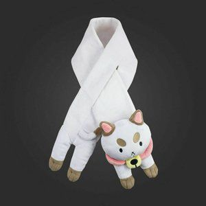 Bee and Puppycat Plushie Scarf